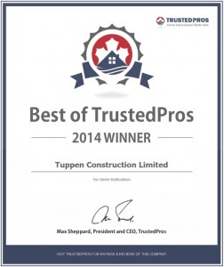 Tuppen Construction Award